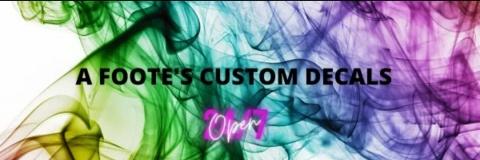 A Footes Custom Decals
